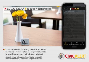O noua categorie pe Civic Alert